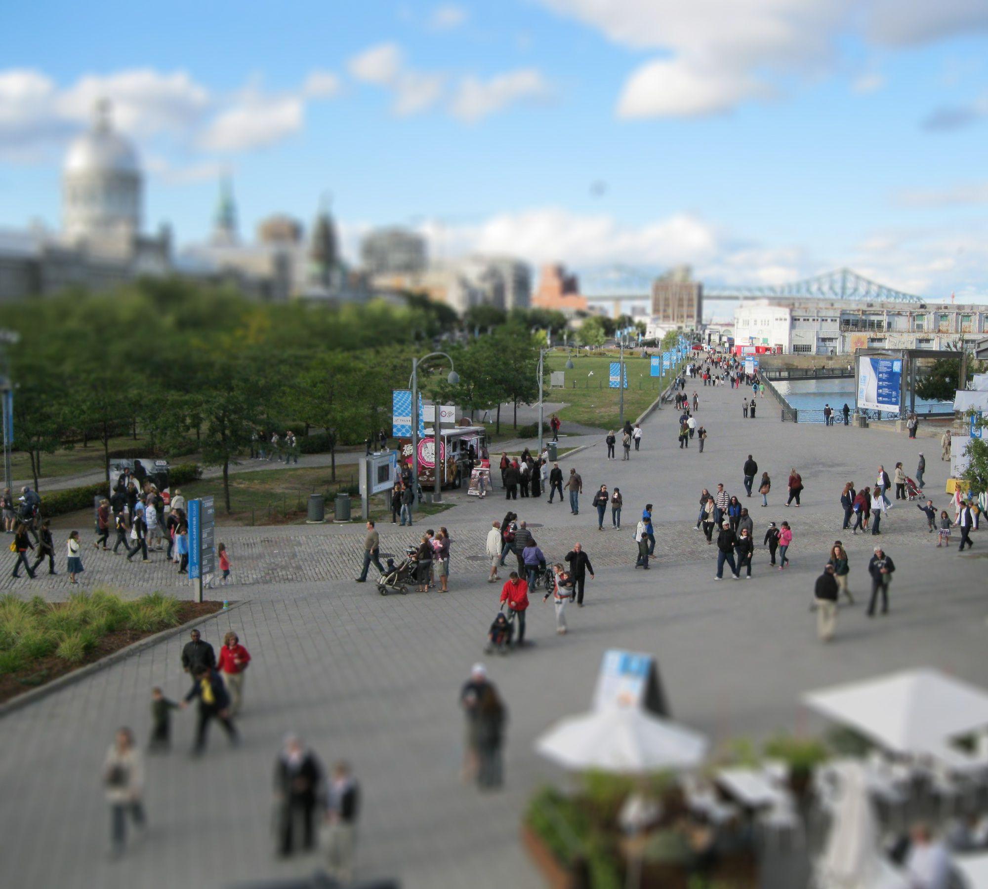 Montréal pense à l'au-delà des jeux