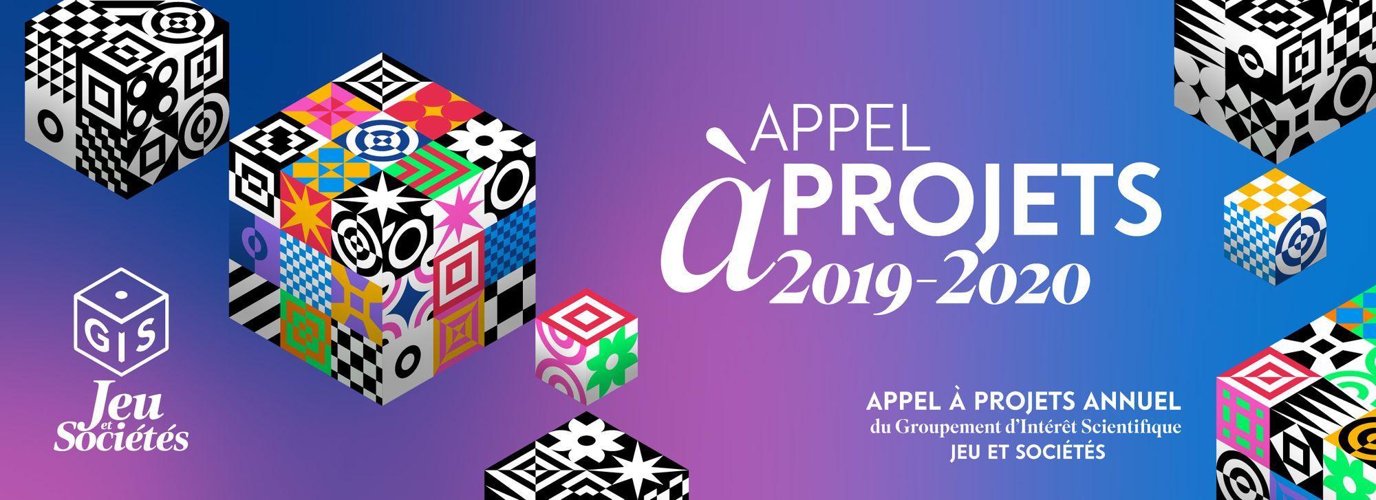 Appel à projets du GIS Jeu et Sociétés - édition 2019-2020